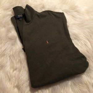 NEW Polo Zip up Sweater